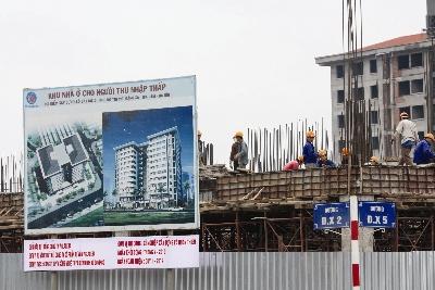 Hà Nội: 400 hồ sơ hợp lệ mua nhà thu nhập thấp Đặng Xá