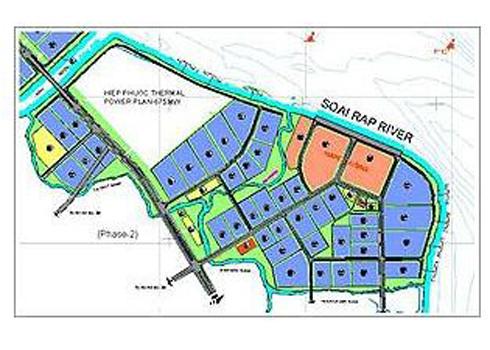 Đất KCN Hiệp Phước cao nhất 3,7 triệu đồng mỗi m2