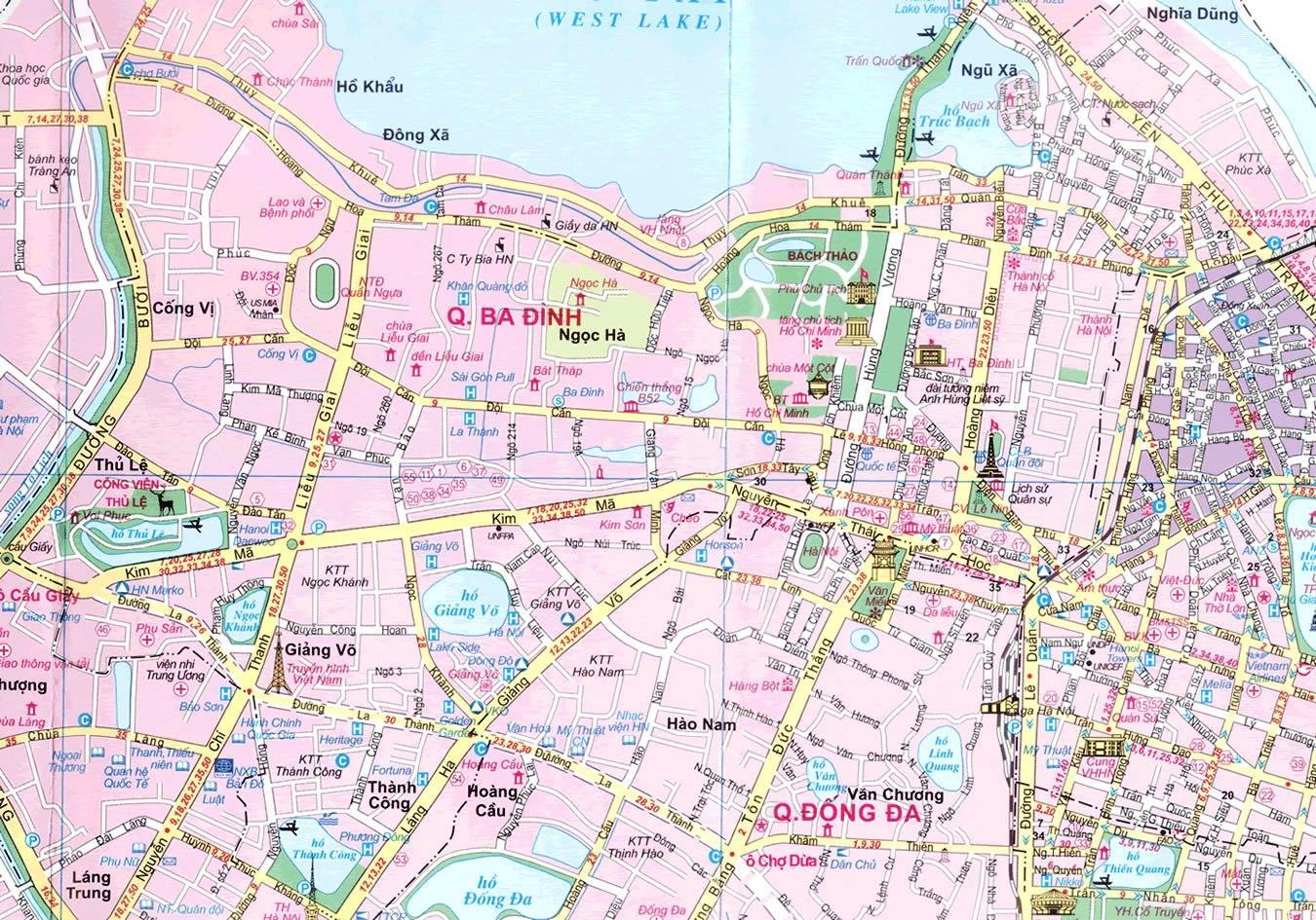 Quy hoạch quận Ba Đình xứng tầm trung tâm chính trị quốc gia
