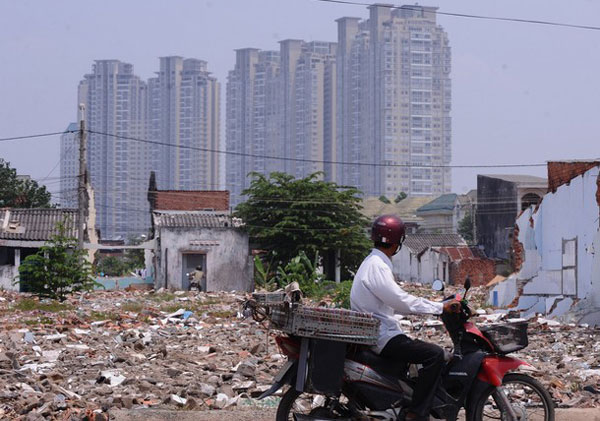 Nợ xấu bất động sản khoảng 3%