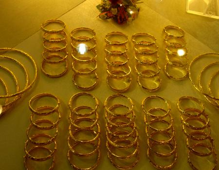 Giá vàng tăng hơn 500.000 đồng một lượng