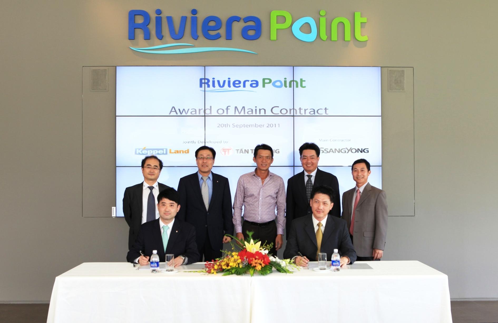 Công ty ngoại trúng thầu dự án Riviera Point khoảng 1.202 tỷ đồng