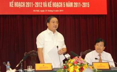 Phó Thủ tướng Hoàng Trung Hải: Quy hoạch xây dựng cần phải đi trước một bước