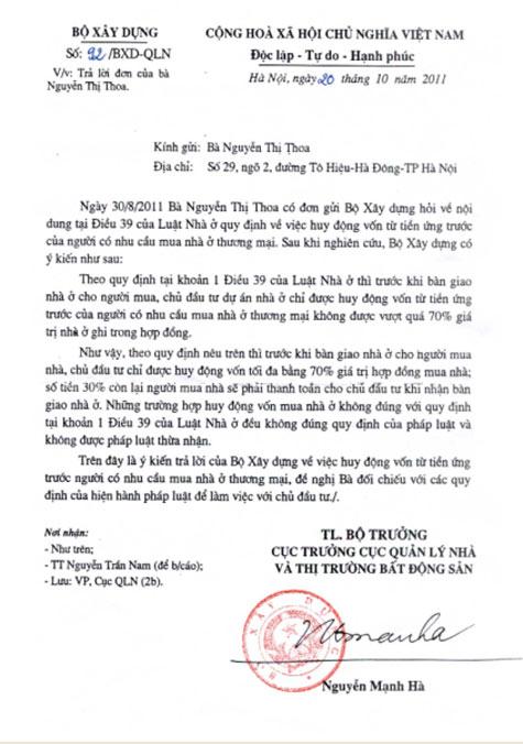 TSQ hoãn bàn giao nhà, làng Việt kiều châu Âu phẫn nộ