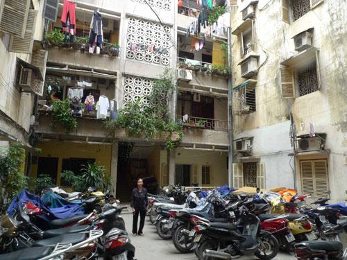 Chuộng căn hộ chung cư cũ