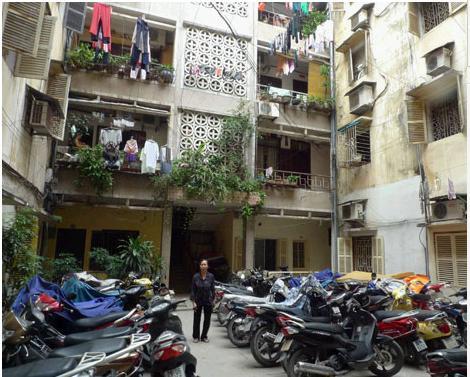 Người Hà Nội chuộng căn hộ chung cư cũ