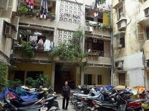 Hà Nội: Chung cư cũ nội thành giá cao, hút khách