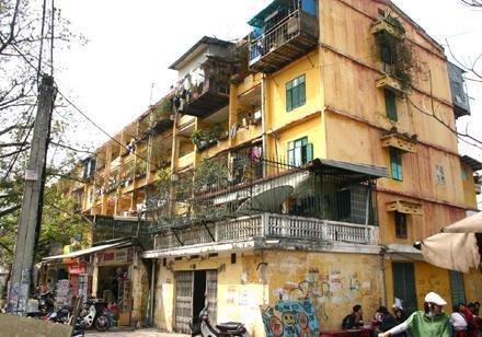 Trên 90% chung cư cũ Hà Nội, TPHCM xuống cấp