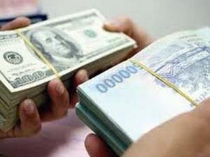 Tỷ giá liên ngân hàng VND và USD tăng lần thứ 13