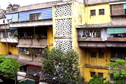 """Một doanh nghiệp """"xin"""" cải tạo 3 chung cư cũ tại Hà Nội"""