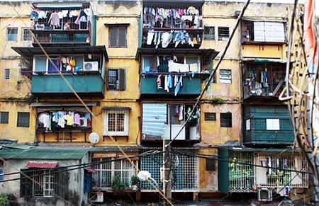 Cải tạo chung cư cũ: 10 năm... chưa làm được 1%