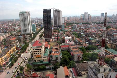 Giá bất động sản Hà Nội tiếp tục lao dốc