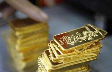 Vàng đứng giá dưới 45 triệu đồng/lượng