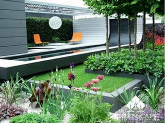 san%20vuon%20nho%203 Thiết kế phong thủy cho sân vườn nhỏ, bạn đã biết chưa?