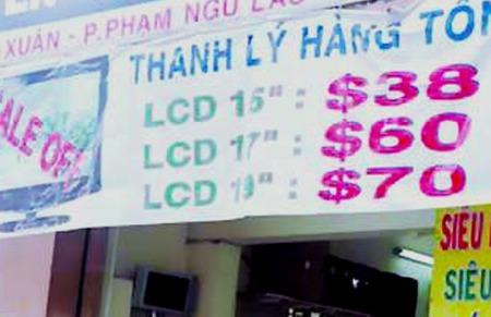 Thêm doanh nghiệp bị phạt do niêm yết giá bằng USD