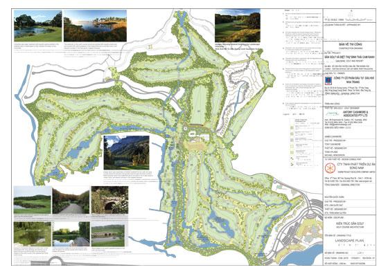 PVC-MT làm tổng thầu thi công ân Golf & Resort Cam Ranh