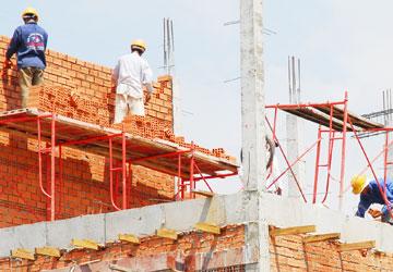 Không bồi thường phần xây tạm