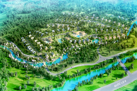 Kim Bôi: Ra mắt chuỗi biệt thự nghỉ dưỡng tại Hòa Bình