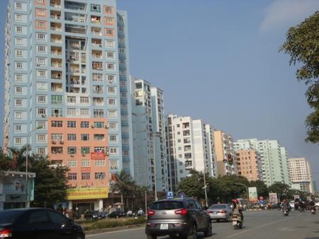 Tỷ lệ chung cư cao tầng phải tùy vào từng khu vực