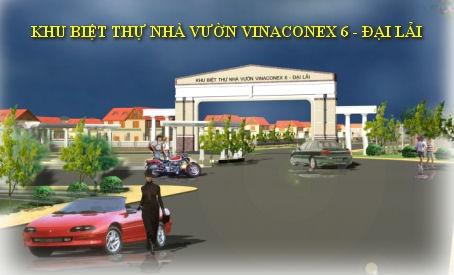 Biệt thự Nhà vườn Vinaconex6 - Đại Lải