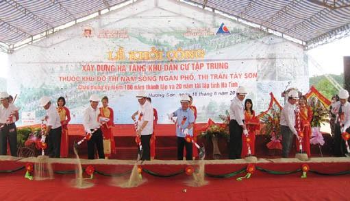 Hà Tĩnh: Khởi công công trình Nhà kiểm soát liên hợp CKQT Cầu Treo kết hợp Quốc môn và dự án đô thị Nam sông Ngàn Phố