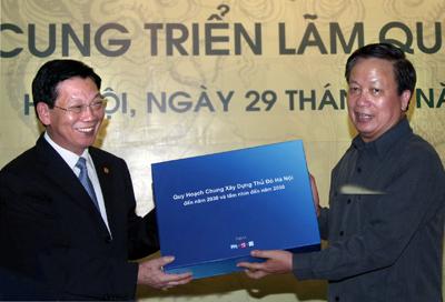 Thủ tướng dự Lễ công bố quy hoạch chung xây dựng Thủ đô Hà Nội