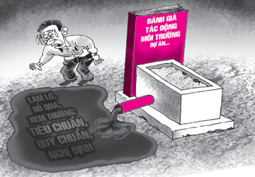 Nghĩa trang nằm sát sông Đồng Nai: Báo cáo tác động môi trường có vấn đề