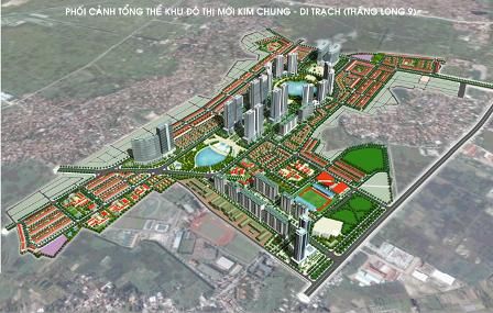 """Dự án Kim Chung Di Trạch: Thi công """"rùa"""", giá giảm mạnh"""