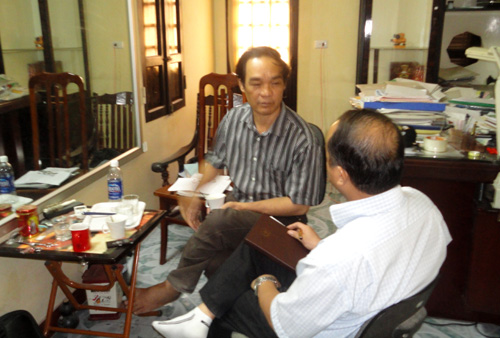 Hà Nội: Dân khổ vì chủ công trình cậy quen chính quyền
