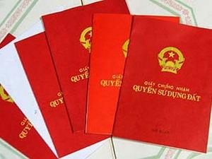 """Hà Nội: Yêu cầu tinh giản các thủ tục cấp """"sổ đỏ"""""""