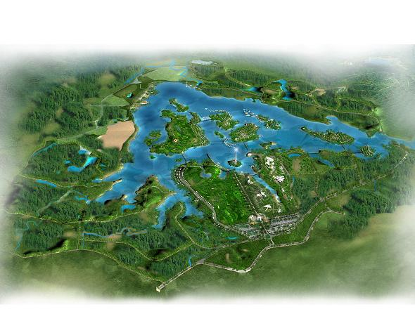 Hà Nội: Duyệt quy hoạch 1/500 Khu du lịch quốc tế cao cấp Tản Viên