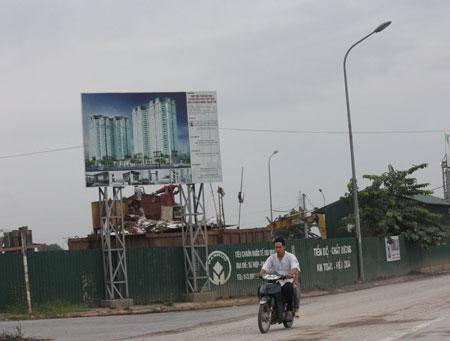 Dự án nhà ở cho cán bộ huyện Thanh Trì: Xin nhà chính sách, bán nhà thương mại