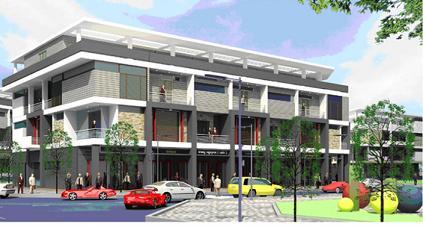 Chào bán nhà phố Rich Town với giá từ 4,5 tỷ đồng/căn