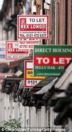 Dân Anh ở nhà thuê vì giá nhà đất tăng cao