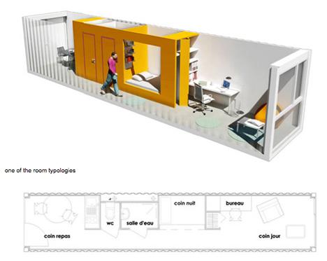 Nhà ở sinh viên - những mô hình độc đáo