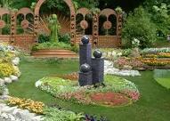 Mát dịu với khu vườn phong thủy