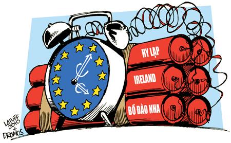 Ngân hàng châu Âu... khát tiền mặt