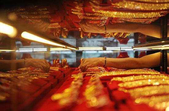 Vàng trong nước tăng 2,82 triệu đồng/lượng