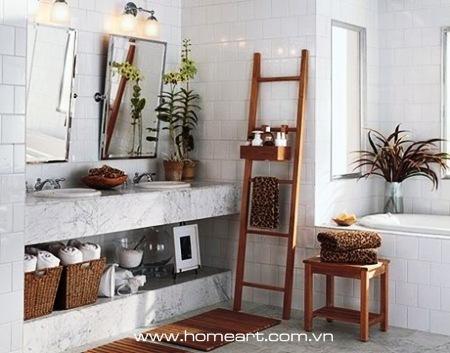 Giải pháp khi phòng tắm nhỏ
