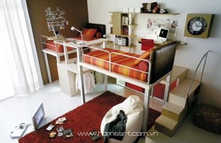 Ý tưởng thiết kế phòng cho bé sinh đôi