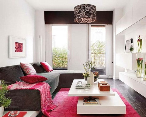 Home Setup: Thiết kế phòng khách cho căn hộ khép kín