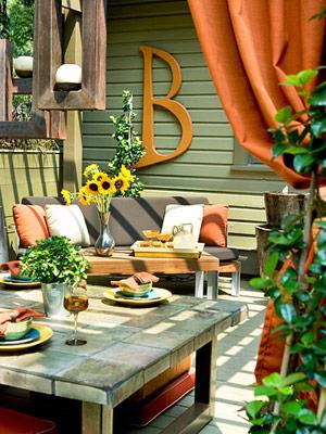 Thiết kế ngoại thất cho góc vườn xinh càng thêm xinh