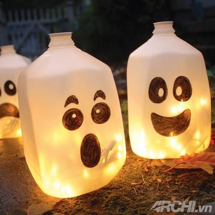 5 ý tưởng trang trí Halloween ngoài trời