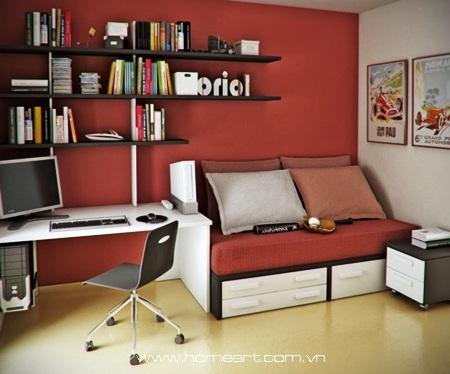 Thiết kế cho không gian làm việc tràn cảm hứng