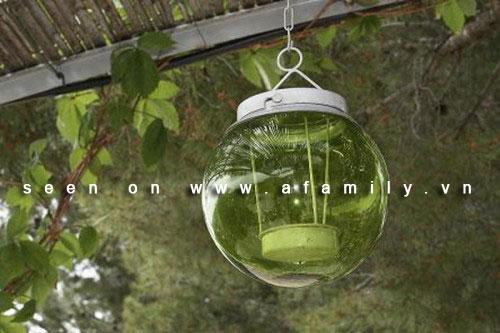 Nến: Những cách trang trí lý tưởng cho khu vườn vào thu