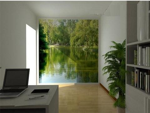 Gỉai pháp thiết kế nội thất cho nhà không có cửa sổ