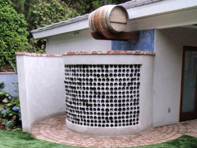 Nhà tắm ngoài trời cho nhà vườn