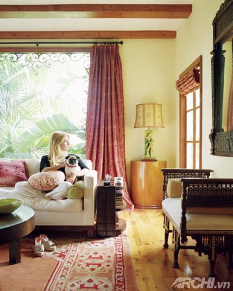 Dinh thự đẹp ấn tượng của diễn viên Poppy Montgomery