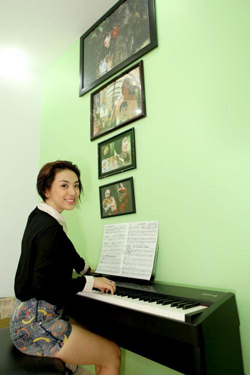 Nhà ca sĩ Lan Trinh rộng mà vẫn gọn