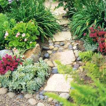 Lối đi trong vườn